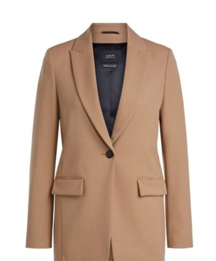 Jacket classic camel-1