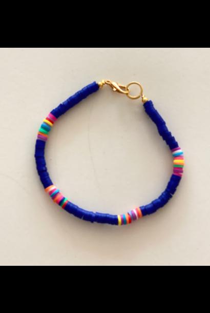 Surf armband donker blauw
