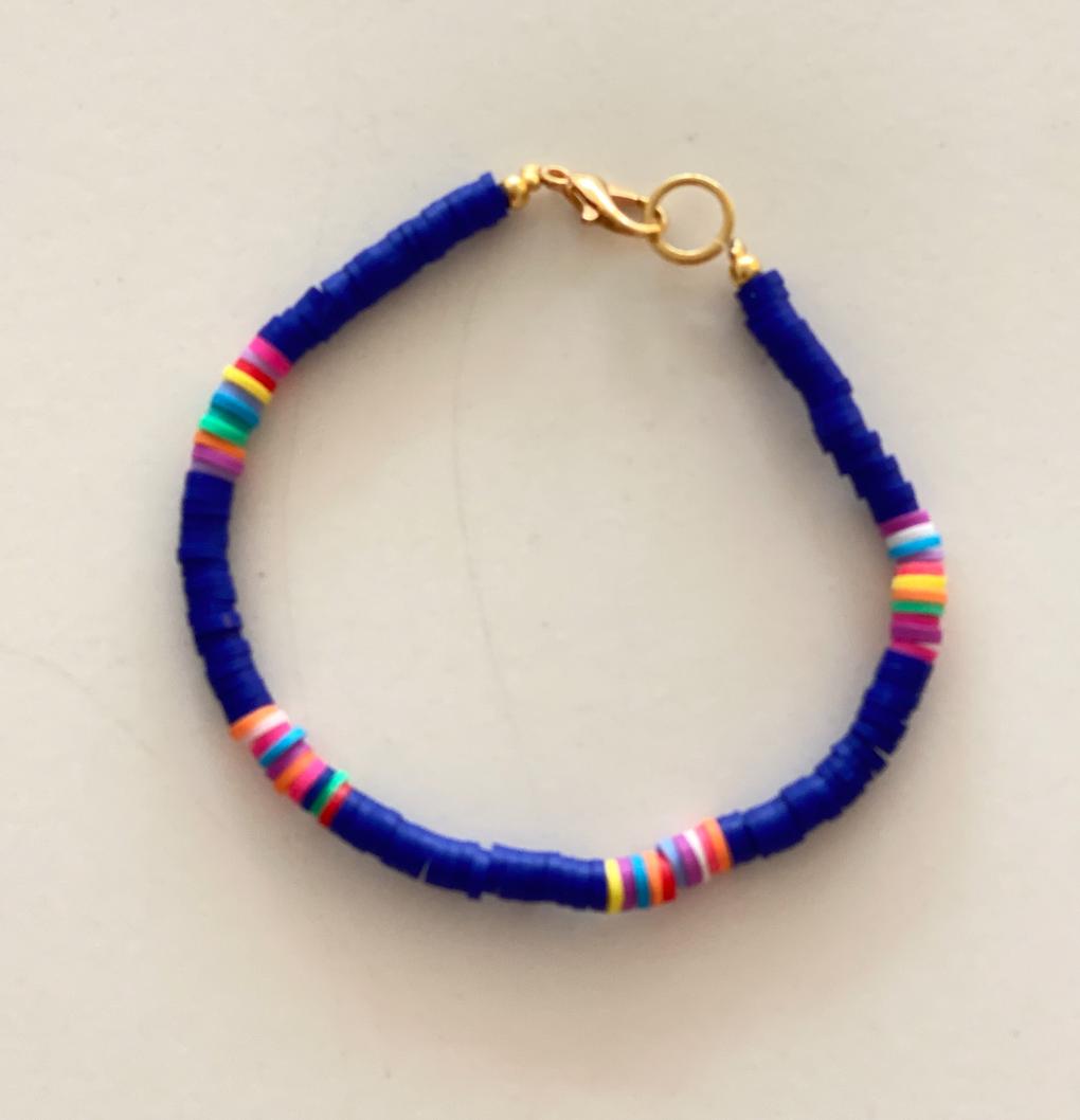 Surf armband donker blauw-1