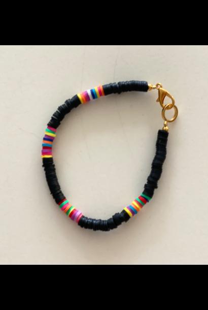 Surf armband zwart