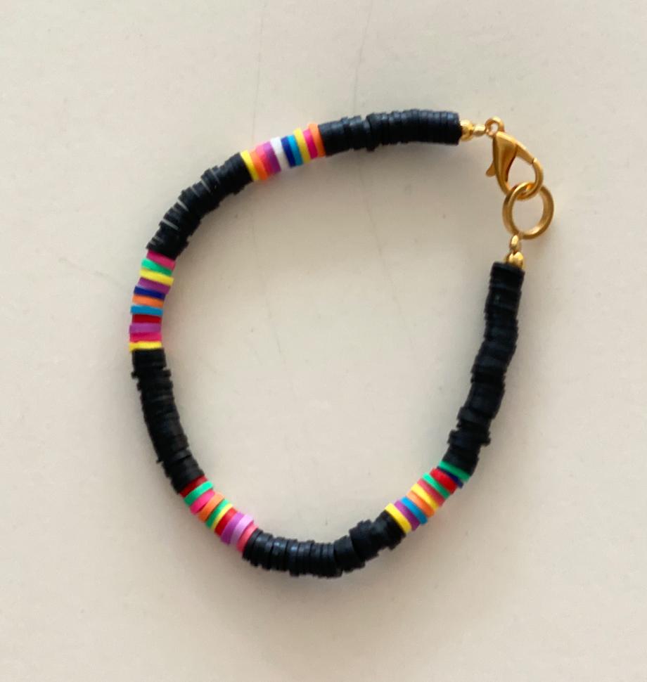 Surf armband zwart-1