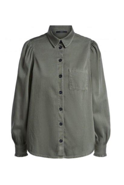 Blouse khaki