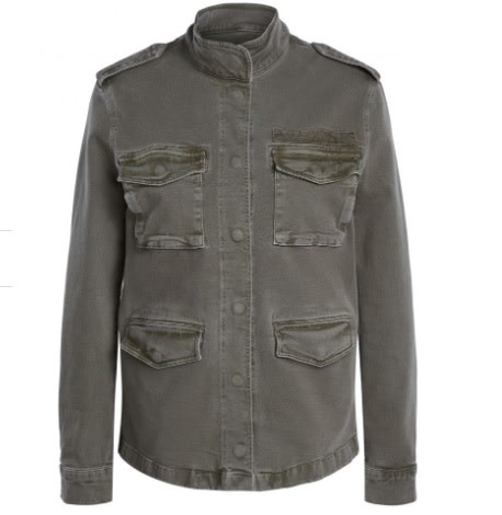 Army jacket khaki-1