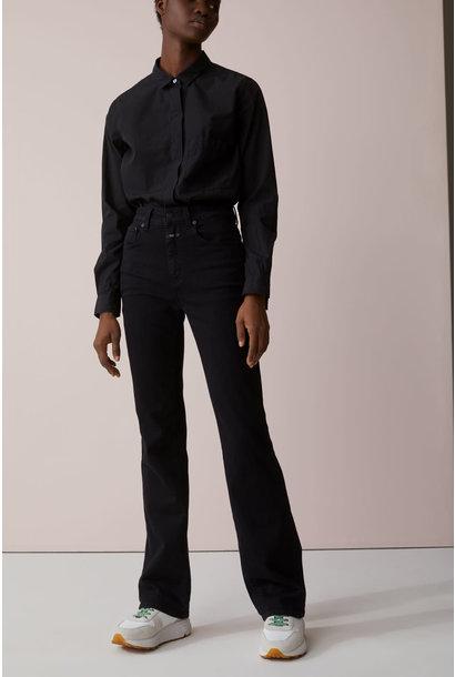 Leaf jeans black