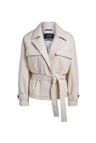 Jacket wood wash