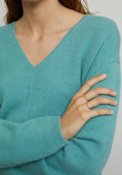 Knit sea blue-1