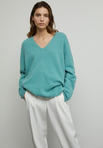 Knit sea blue-4