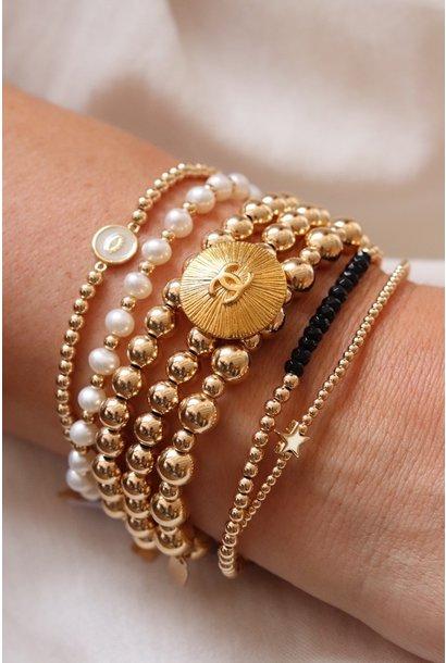 Vintage Chanel x PS Call me bracelet