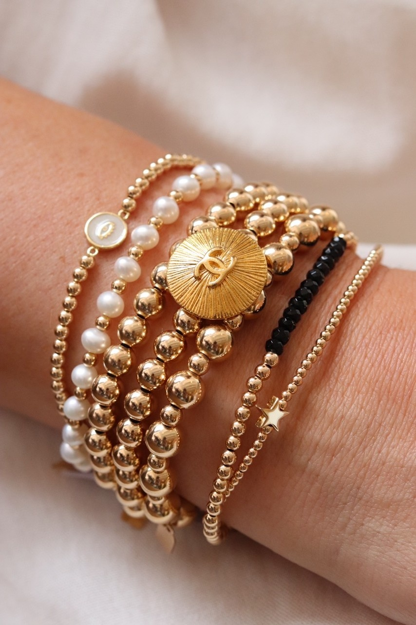 Bracelet Vintage Chanel x PS Call me-3