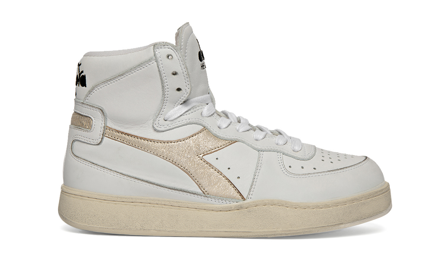 Baskets used white/gold-8