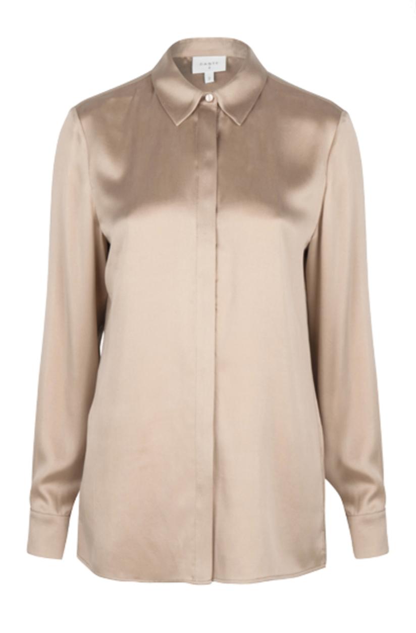 Zayn silk stretch blouse-1