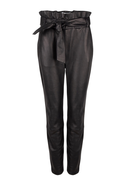 Duncan leather pants raven