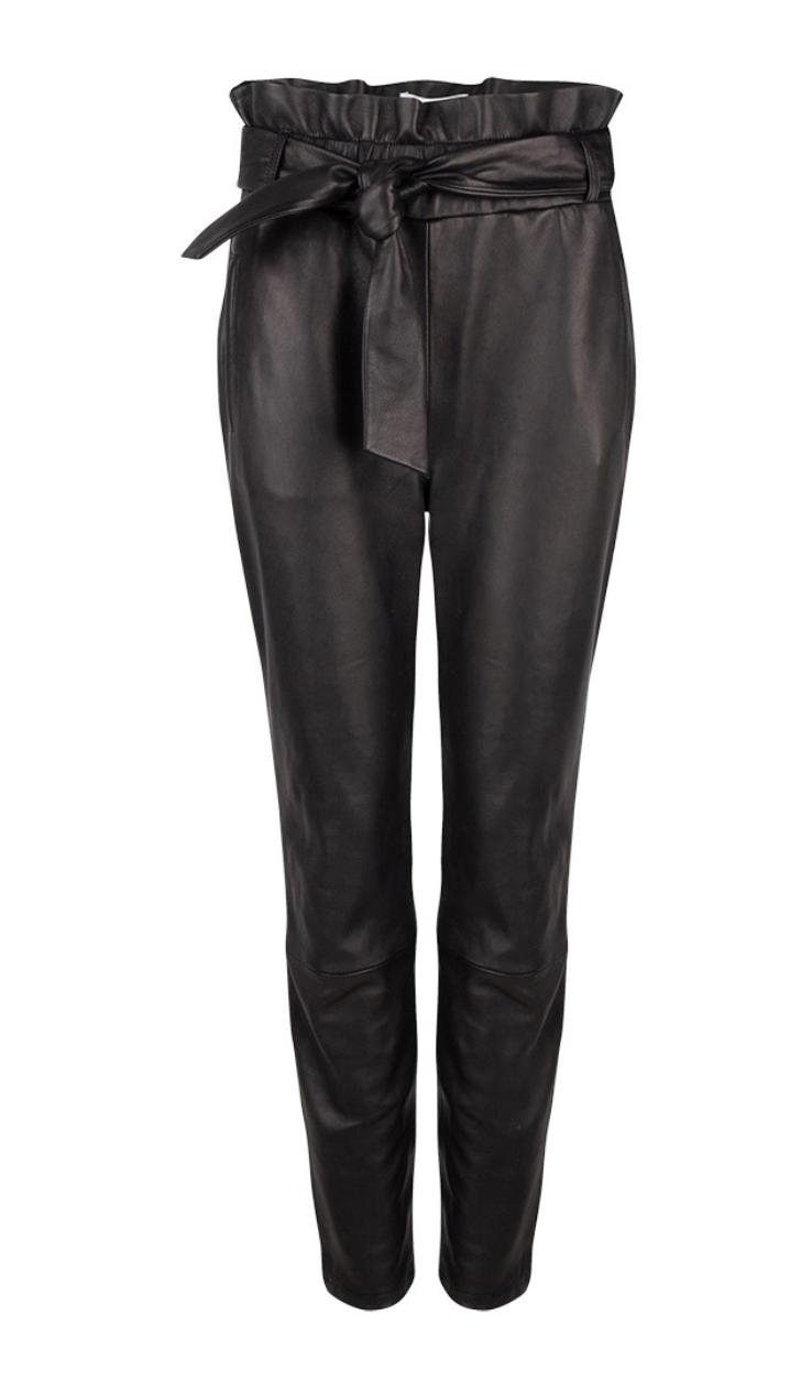 Duncan leather pants raven-1