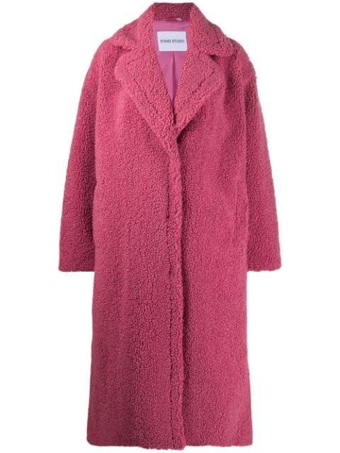 Maria coat berry pink-1