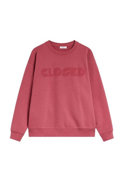 Sweater Cabernet red