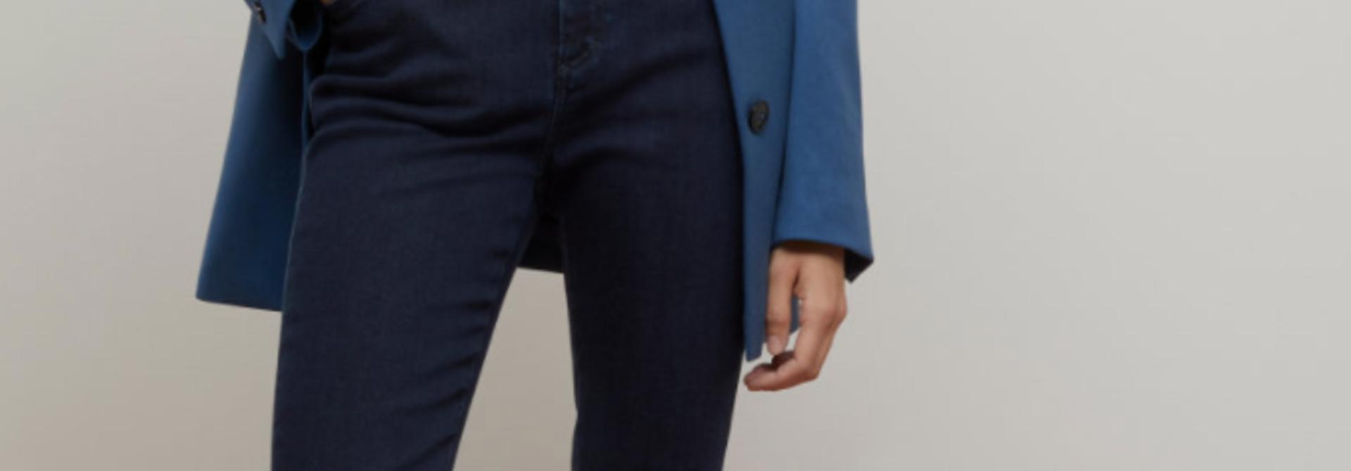 Skinny pusher - dark blue