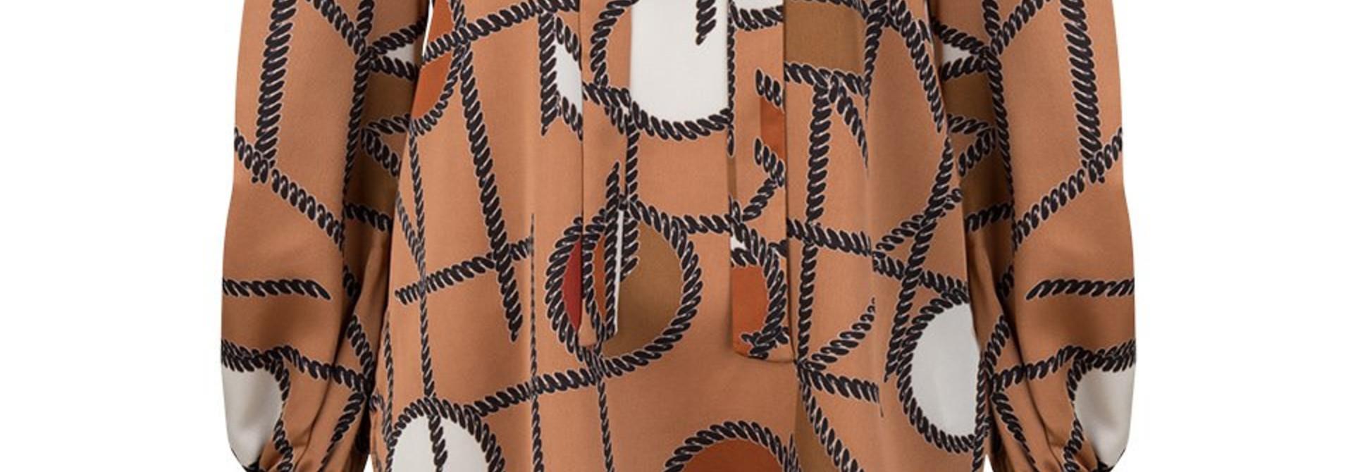 Miller chaint print blouse