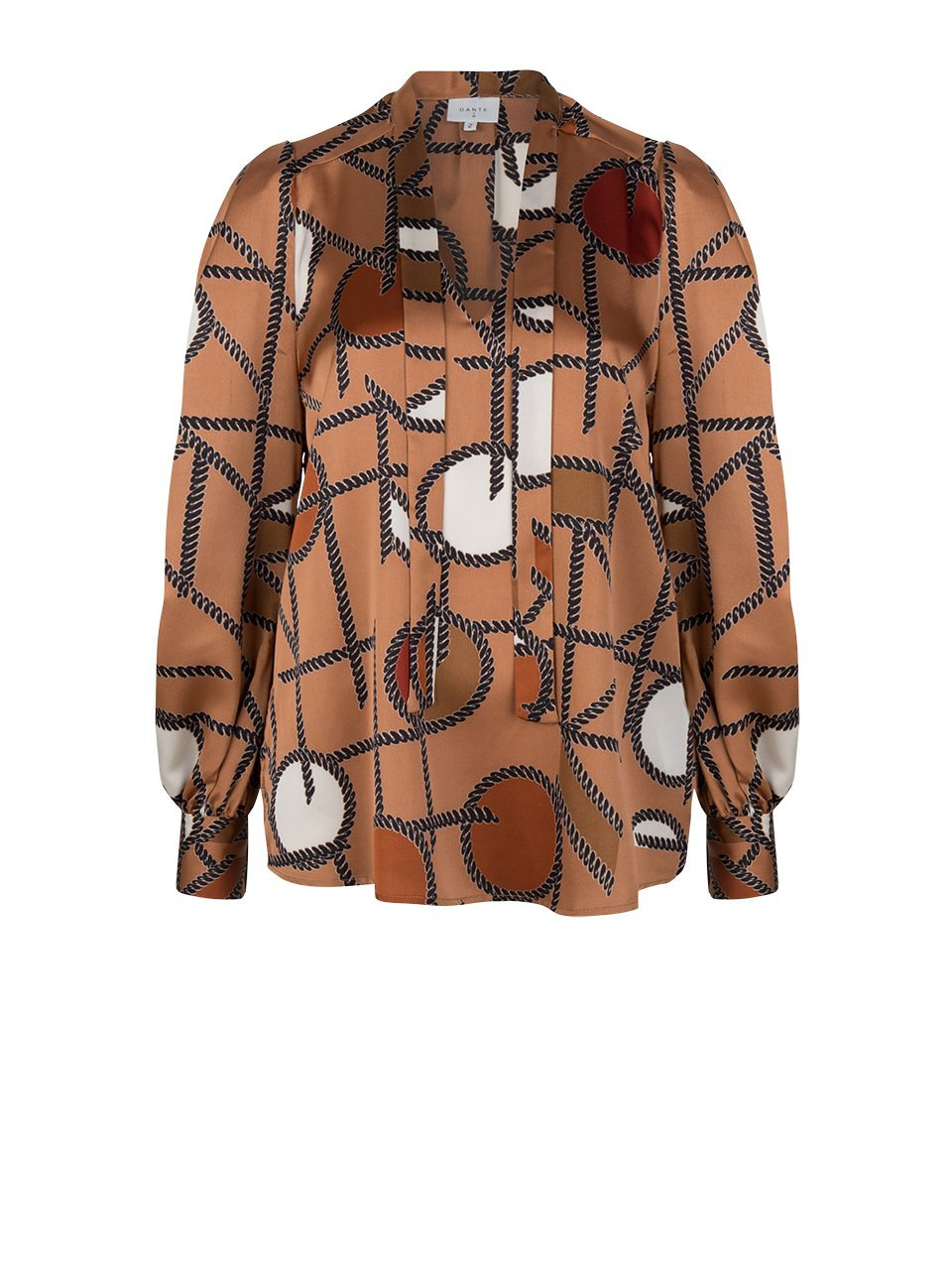 Miller chaint print blouse-4