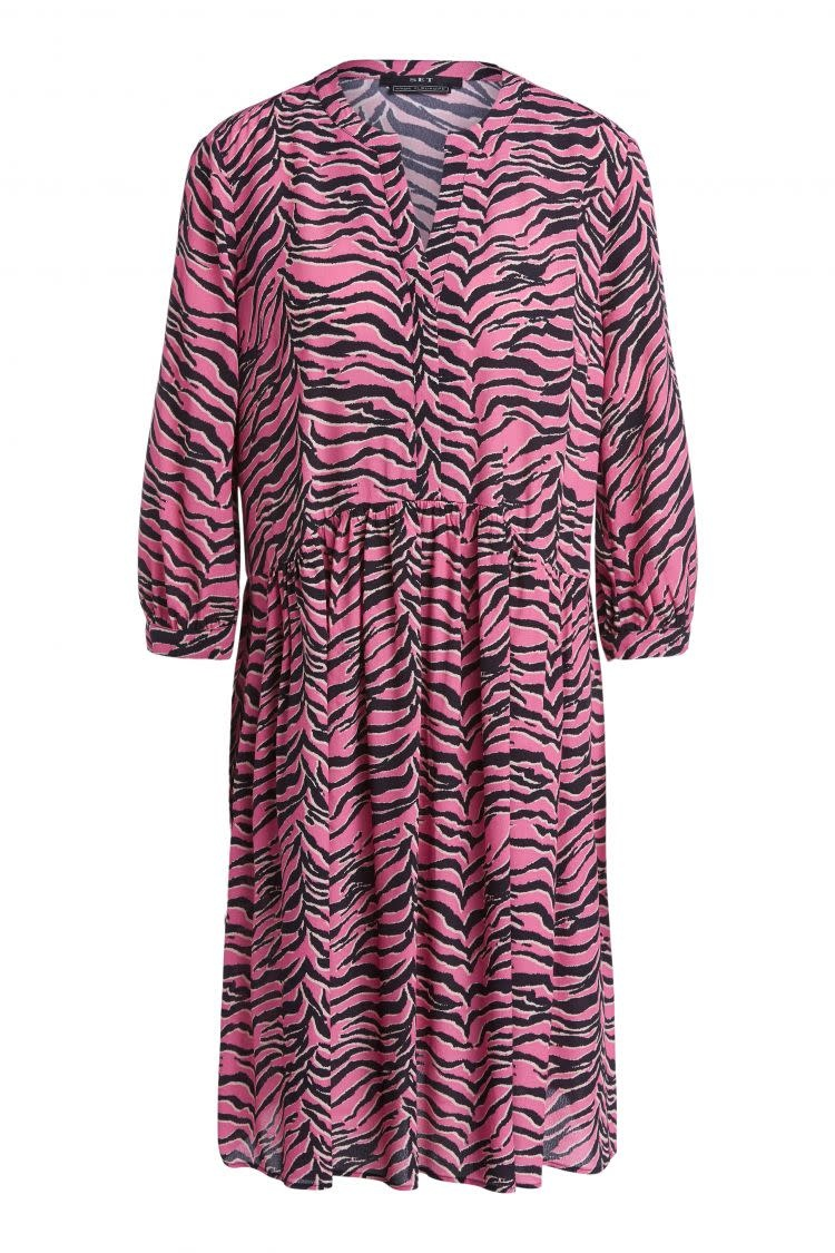 Dress zebra pink-1