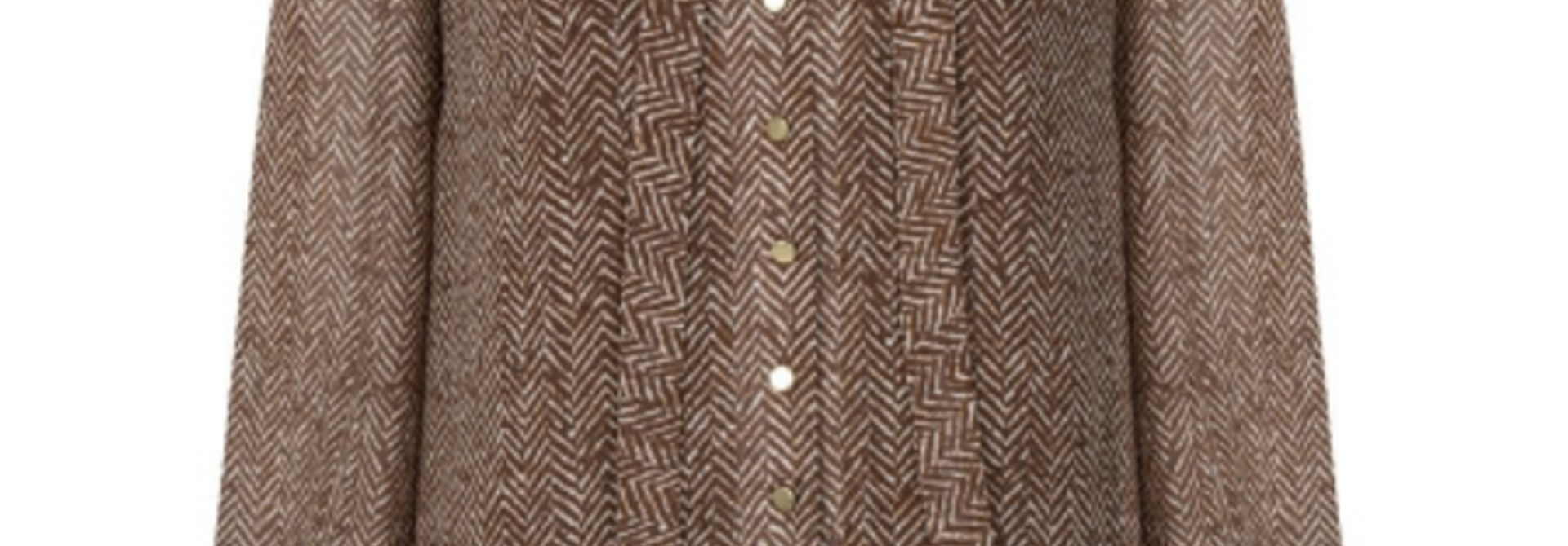 Bibi chevron printed blouse