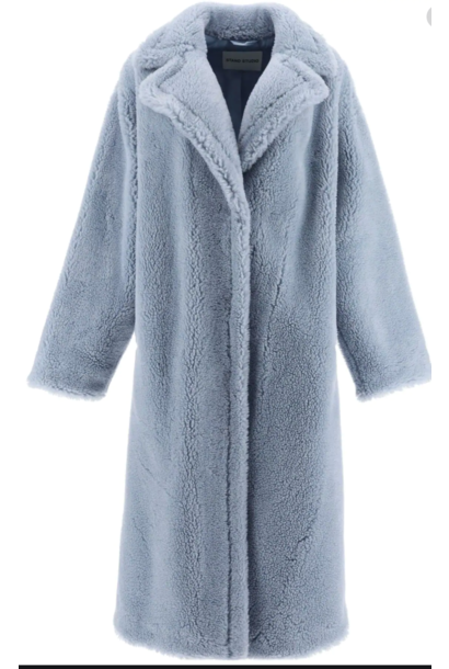 Maria coat light blue