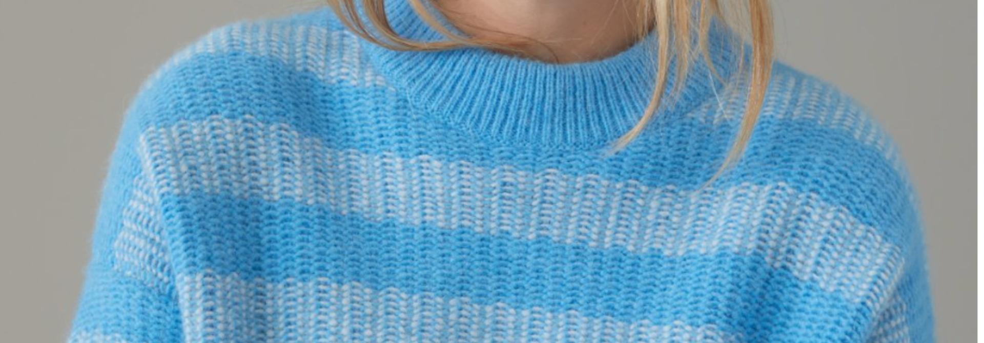 Knit heaven blue