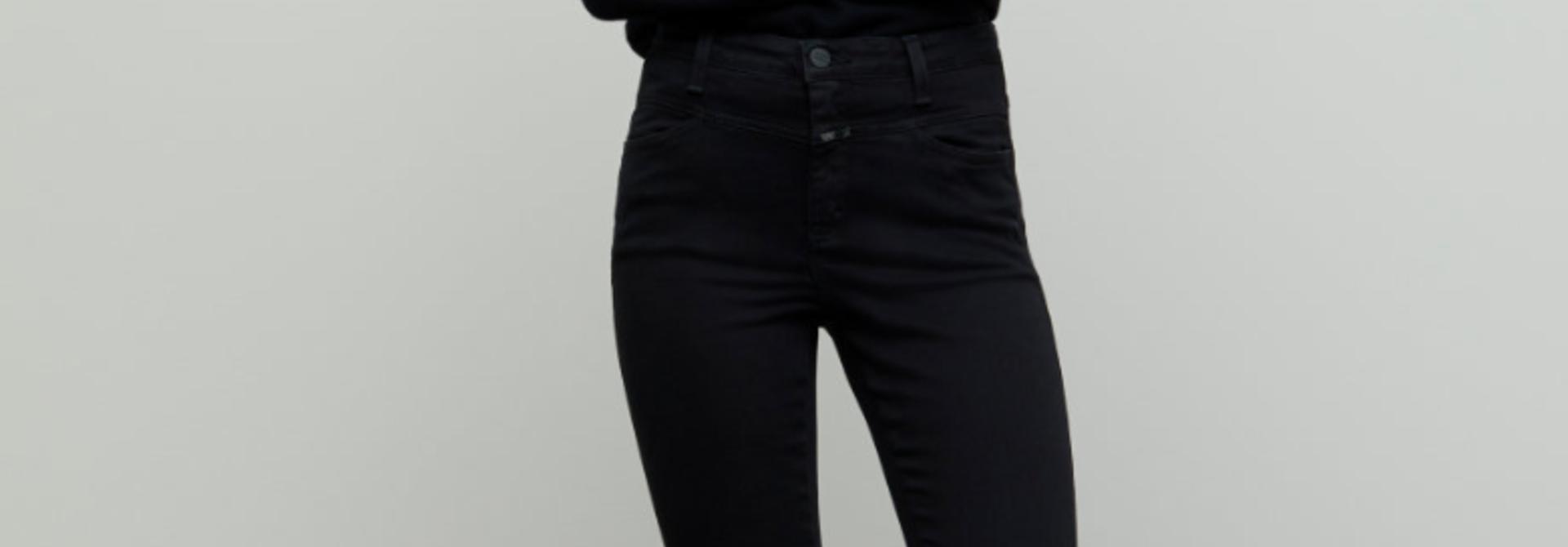 Skinny pusher black