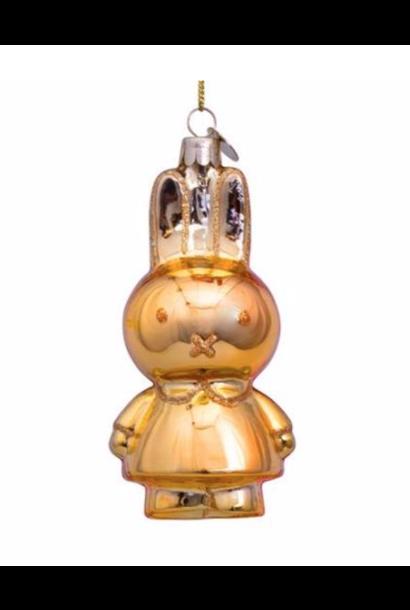 Kersthanger Nijntje / Miffy gold