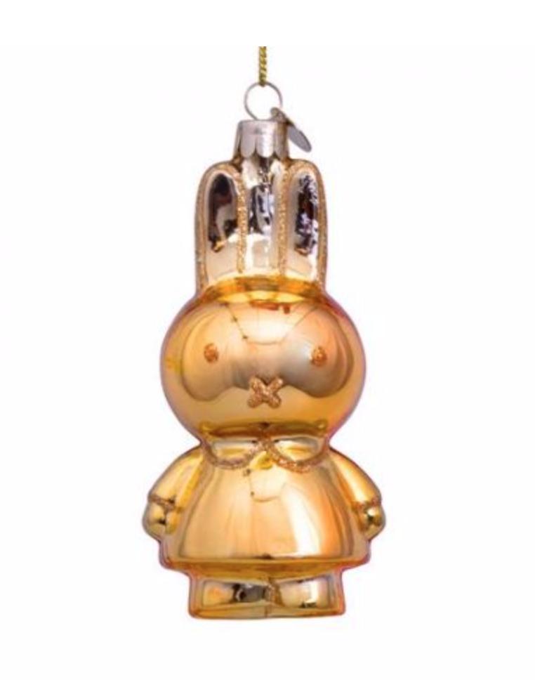 Kersthanger Nijntje / Miffy gold-1