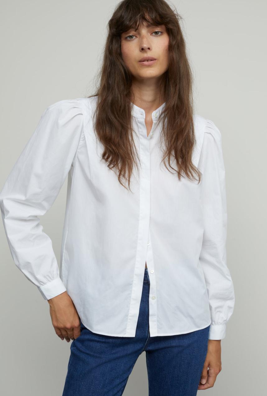 Kea poplin blouse-1