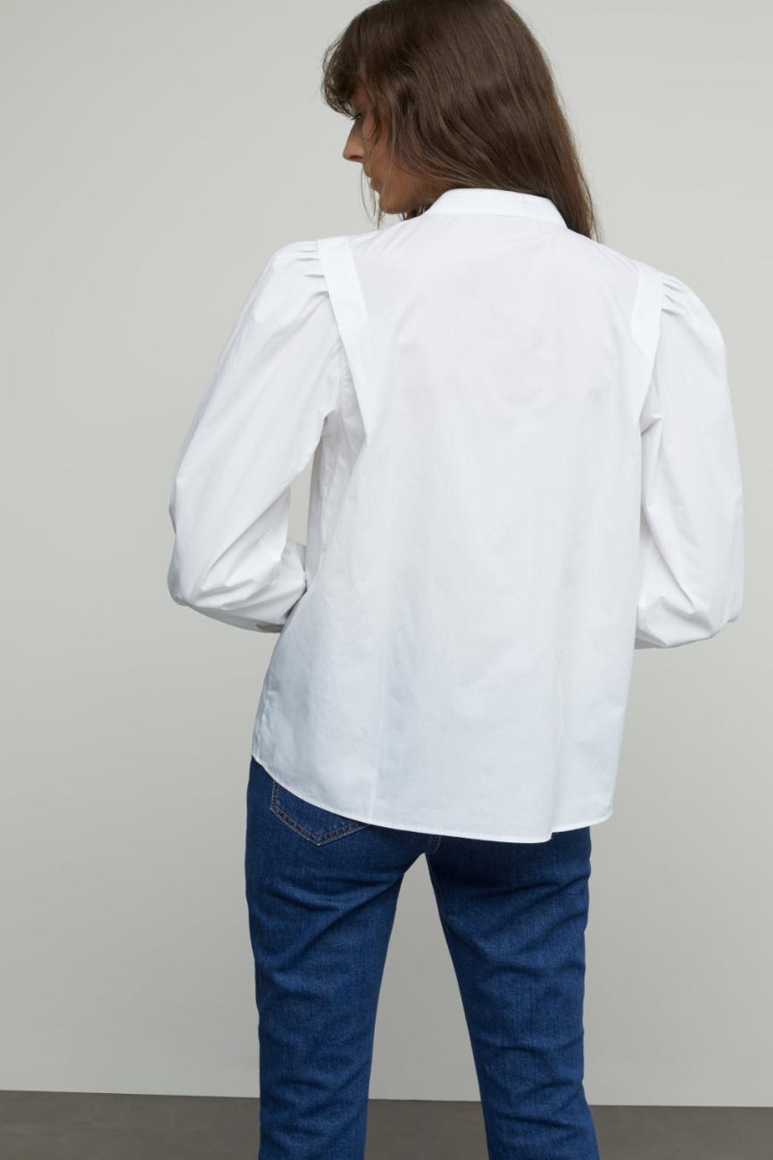 Kea poplin blouse-2