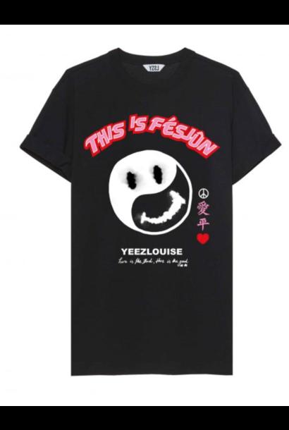 Fesjun tee black  YZLS N15