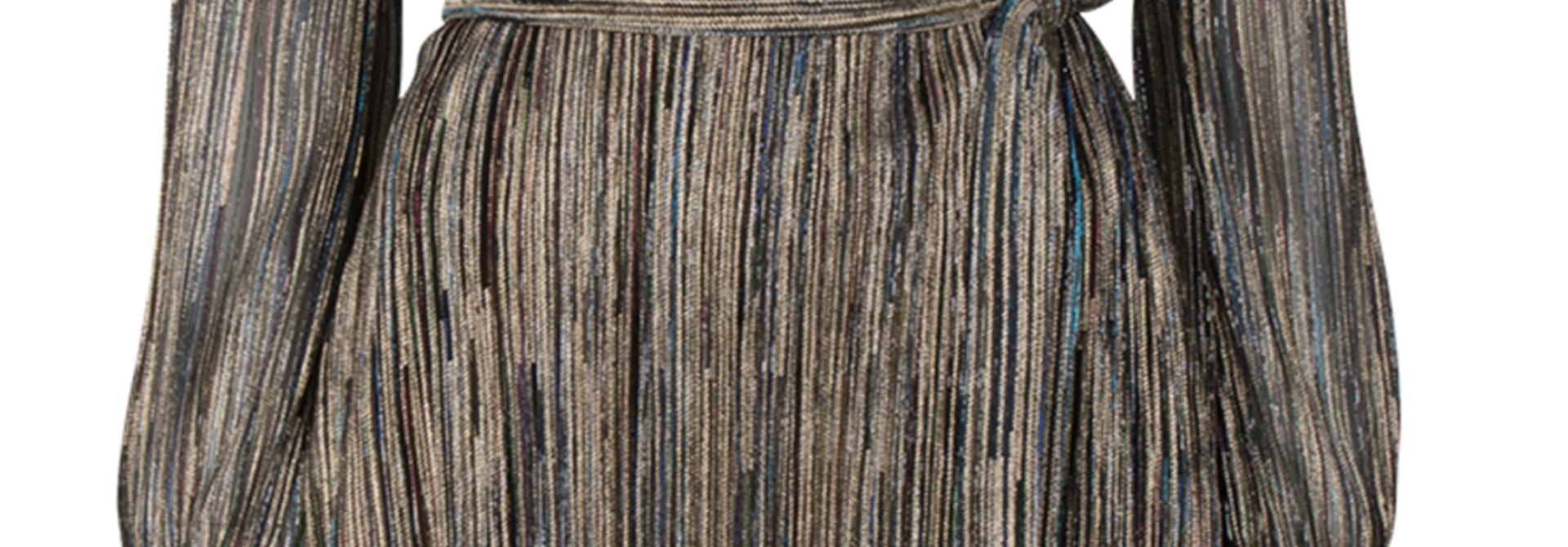 Alixa lurex dress