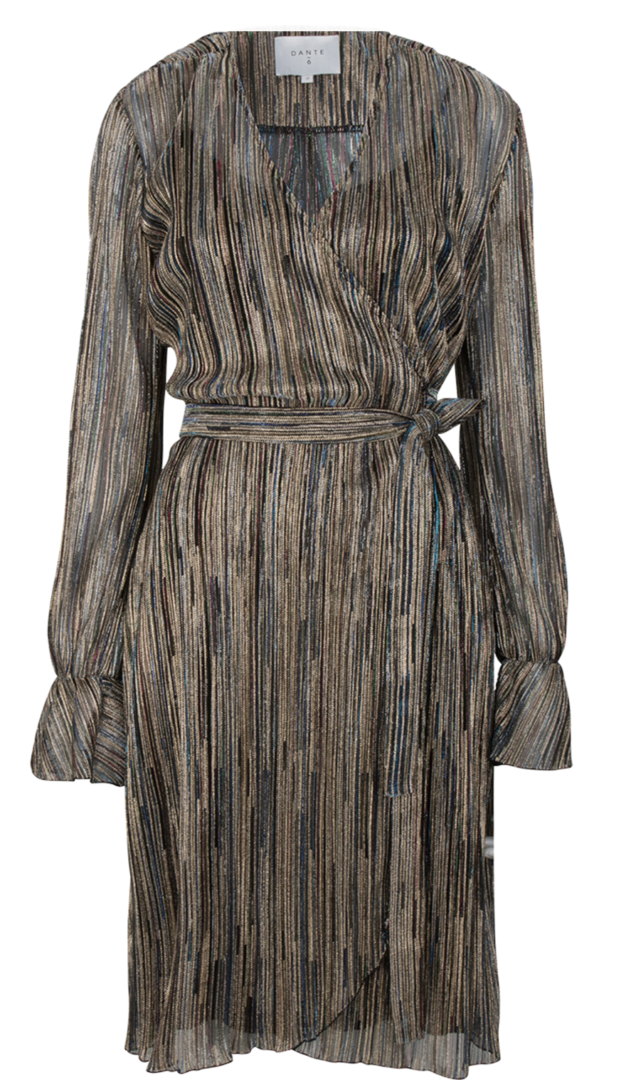 Alixa lurex dress-1