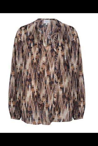 Allani aztec printed blouse