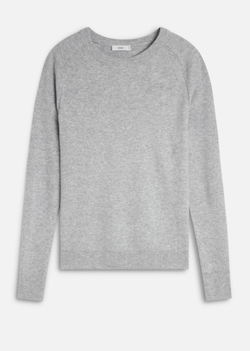Merino Wool & Cashmere Sweater-1