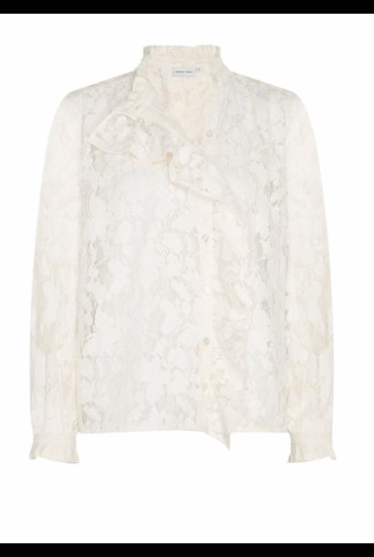 Garden Indy blouse creme white