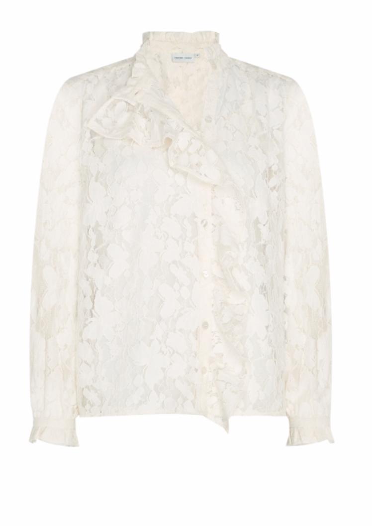 Garden Indy blouse creme white-1