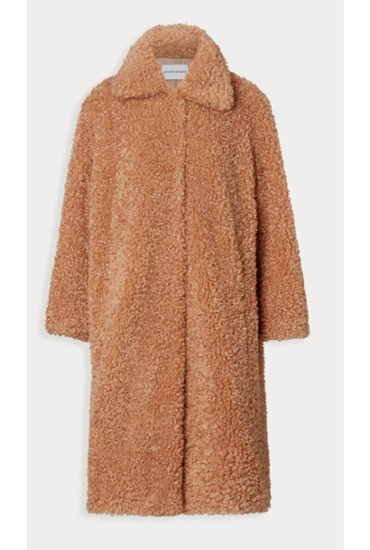 Camille cocoon coat camel