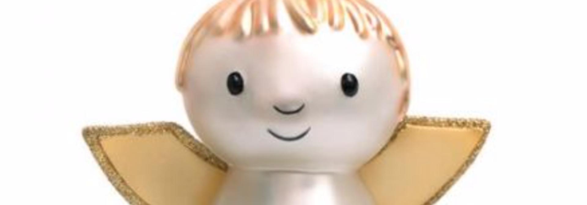 Kersthanger Nijntje/ Miffy angel (H 11cm)