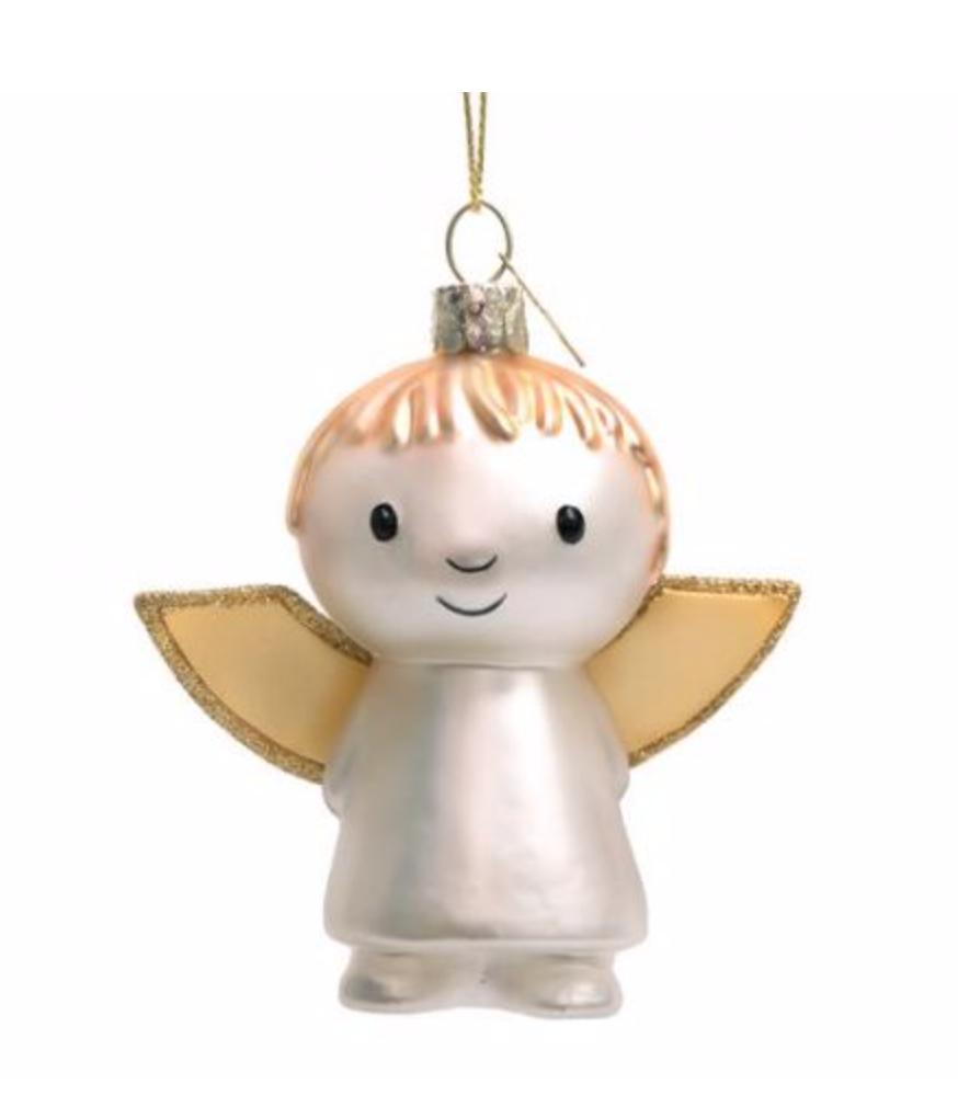 Kersthanger Nijntje/ Miffy angel (H 11cm)-1