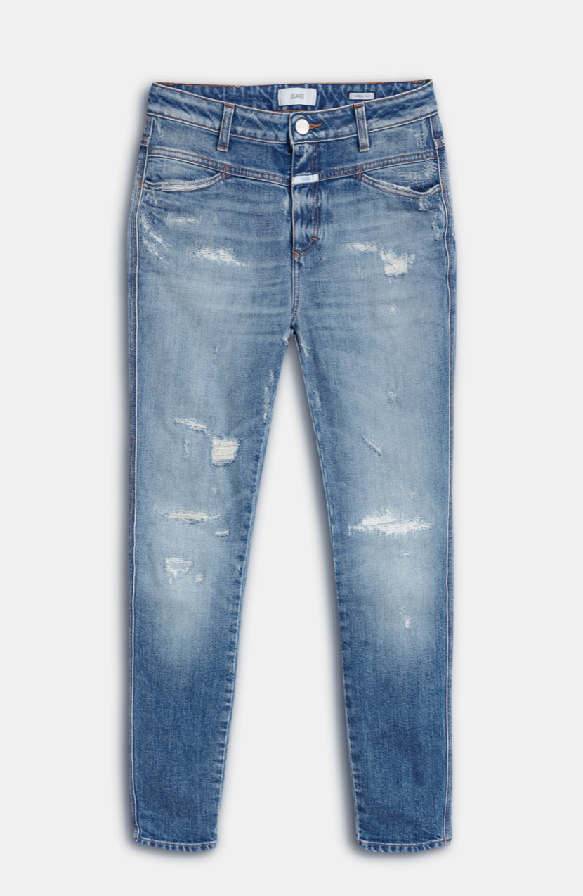 Skinny pusher organic mid blue-5