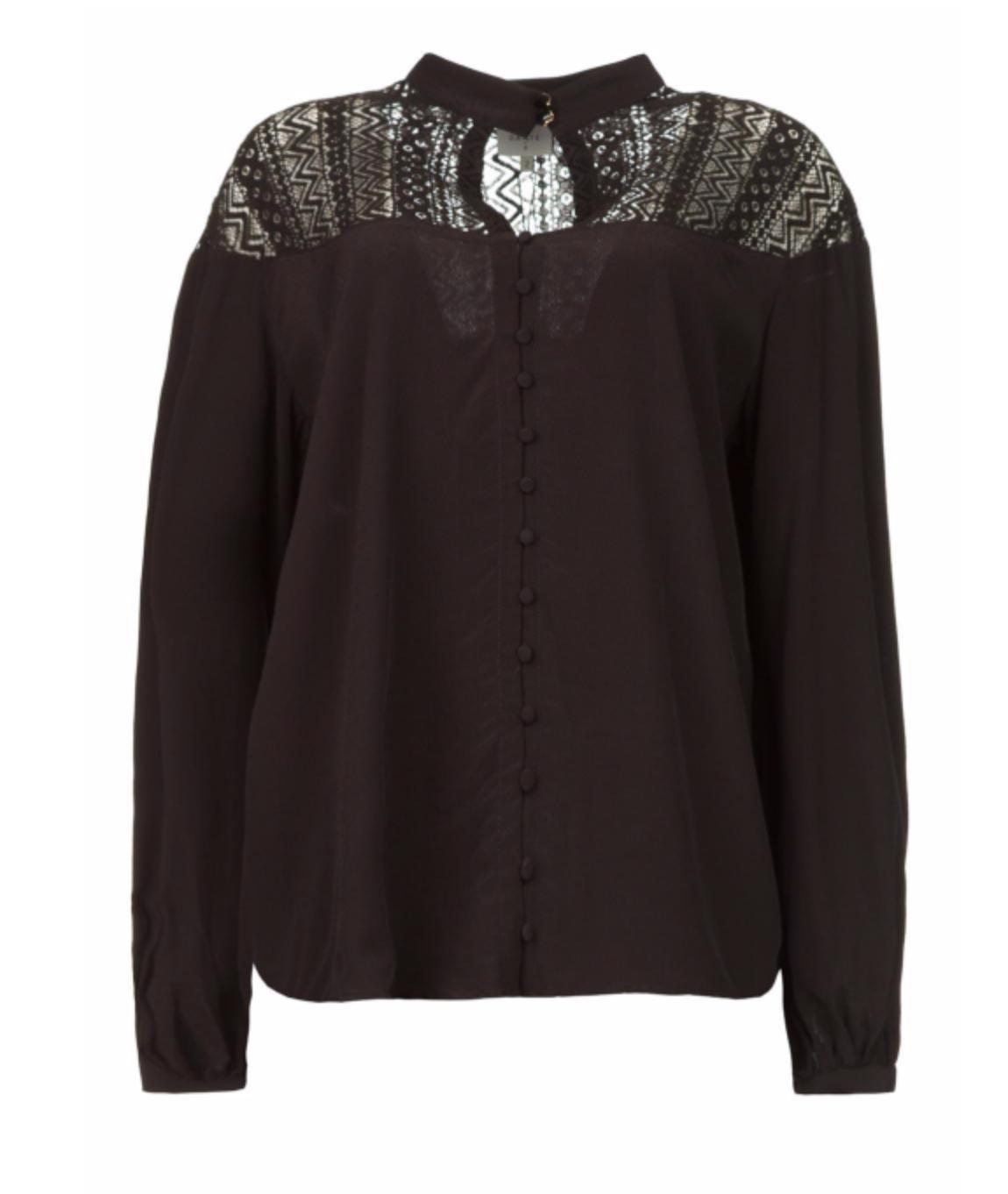 Camdyn lace detail blouse-1