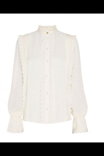 Austin blouse creme white