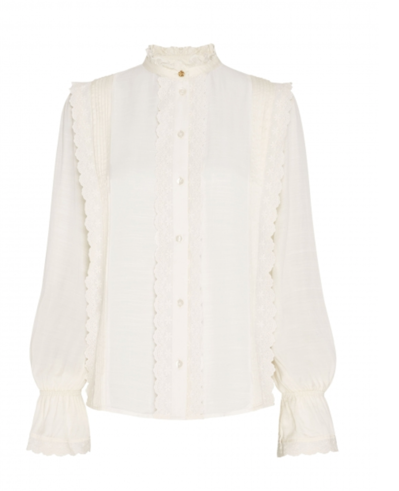 Austin blouse creme white-1