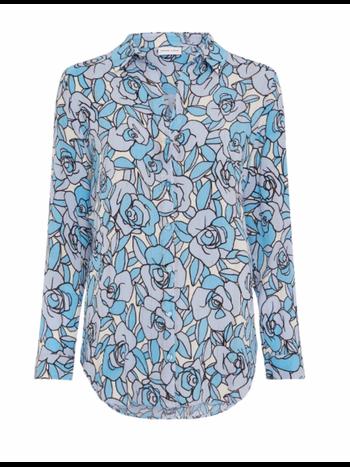 Fabienne Chapot Lily Isa blouse lavender / warm white rambling rose