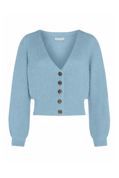 Starry Cardigan Ice blue