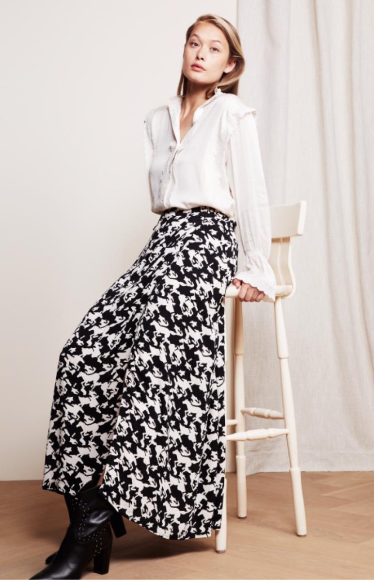 Bobo skirt black/warm white-2
