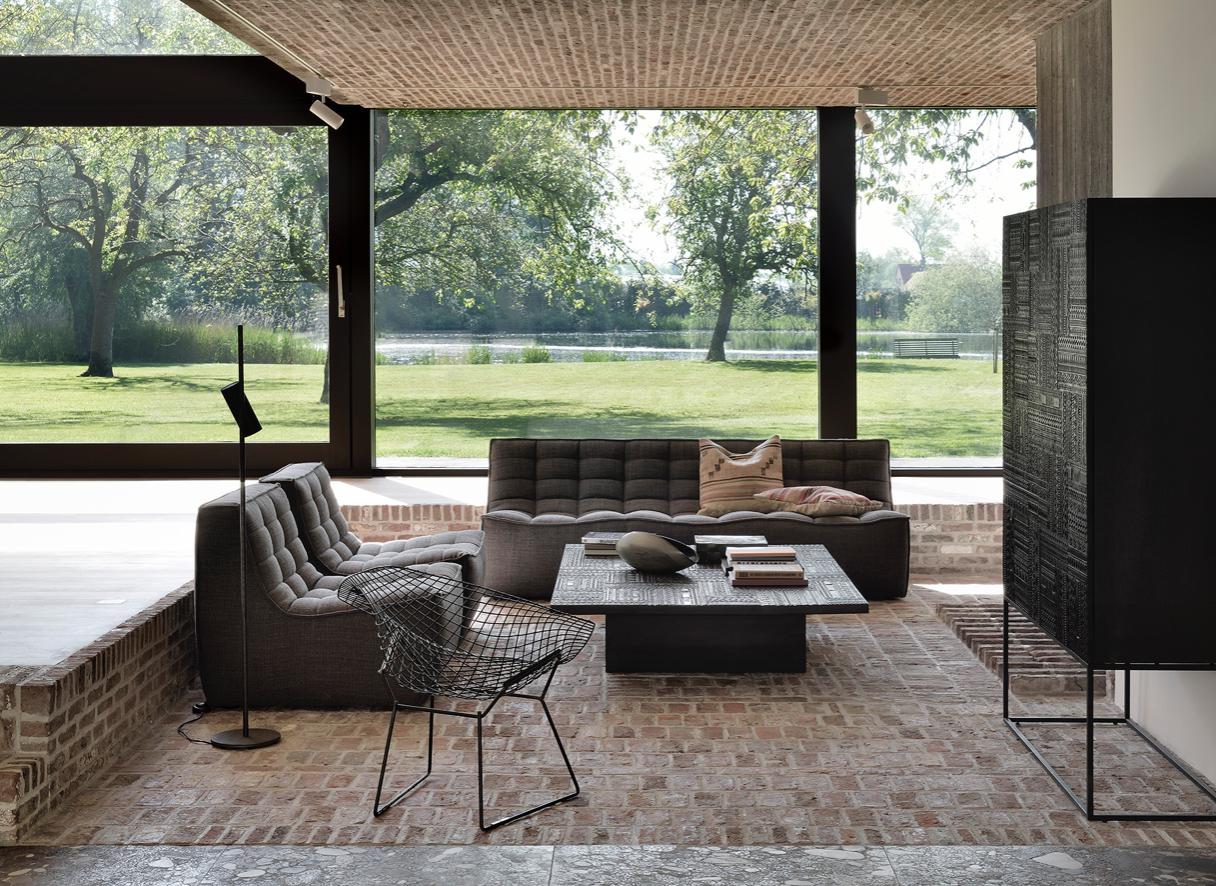 Ethnicraft sofa N701  – 3 seater-2