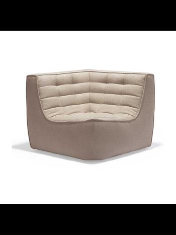 Ethnicraft N701 sofa - corner beige
